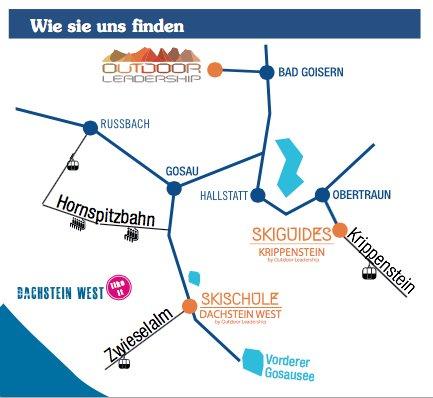 Skischule Dachstein West Anreise