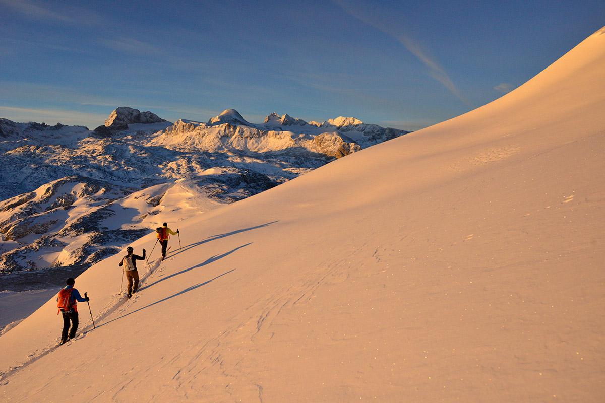Skischule Dachstein - Ski Touren Kurse für Fortgeschrittene